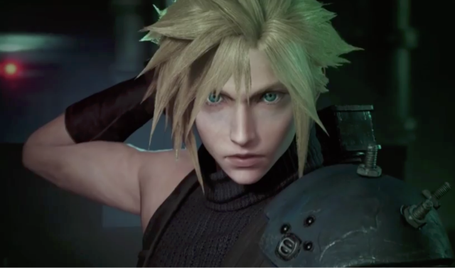 Final Fantasy VII remake trailer screenshot