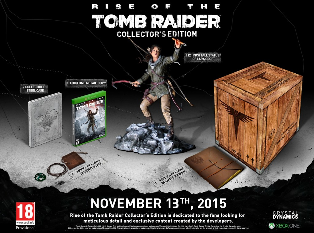 Rise of the Tomb Raider Collector's Edition for Xbox